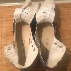 Converse Shoes - 10 Mens Grey Converse All-Star chuck taylors